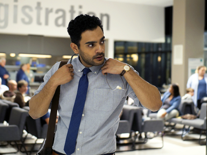 Hamza Haq stars in the CTV series Transplant
