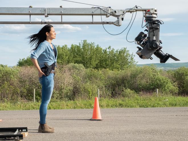 Jessica Matten stars in the ATPN series Tribal